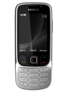 Nokia 6303i Classic Handy in Silber