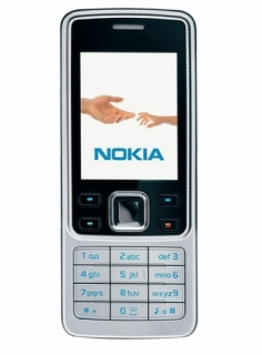 Nokia 6300 Handy in Silber