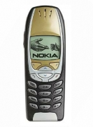 Nokia 6310 Handy in Schwarz / Gold